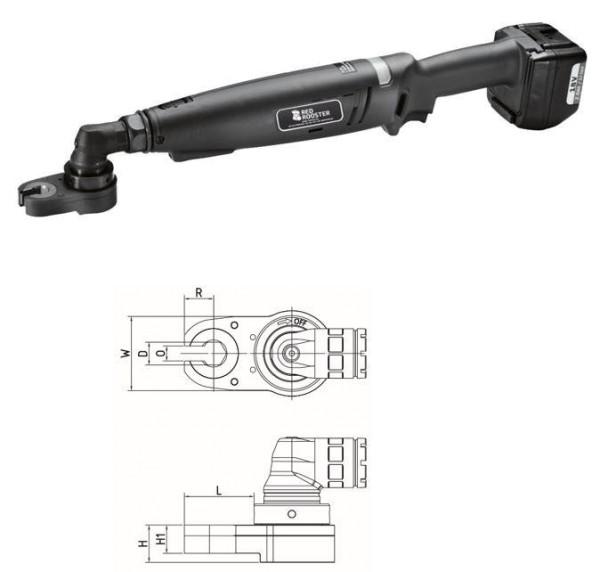 RED ROOSTER RRI-BA10BOA H19 Akku Winkelschrauber mit Offenmaulabtrieb Schlüsselweite 19 mm 3-7 Nm