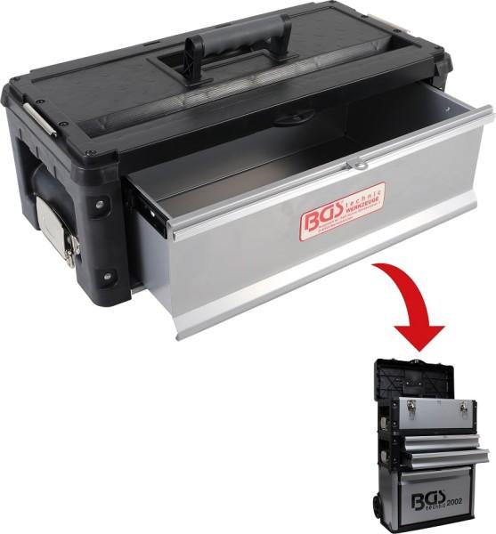 BGS 2002-1 Montagewagen-Aufsatz abnehmbar Werkzeugkoffer mit Schublade Aufsatzkoffer