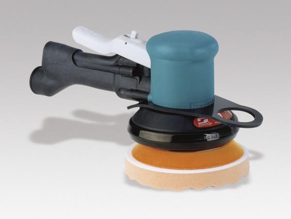 Druckluft Poliermaschine 58455 Dynabrade Dynabuffer 14 mm Hub und 125 mm Polierteller
