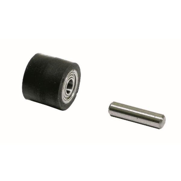Kontaktrad 11070 mit Lager & Achse für Dynabrade Dynafile-Serie Schleifbänder 13 mm x 610 mm