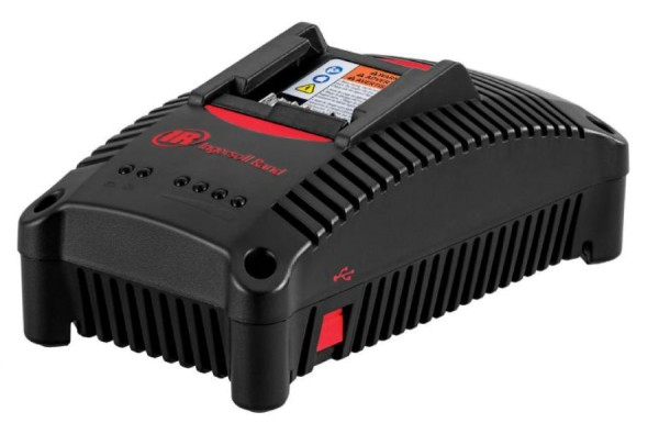 Ingersoll Rand 40 Volt Ladegerät BC1161-EU Universalladegerät mit USB Schnellladegerät
