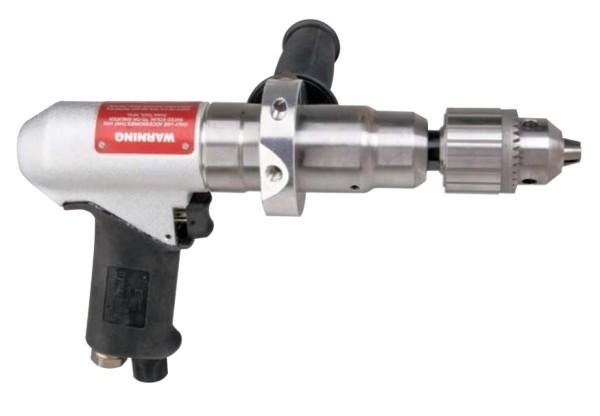 Druckluft-Bohrmaschine 53091 mit 10 mm Zahnkranzbohrfutter Dynabrade Pistolenbohrmaschine 950 RPM
