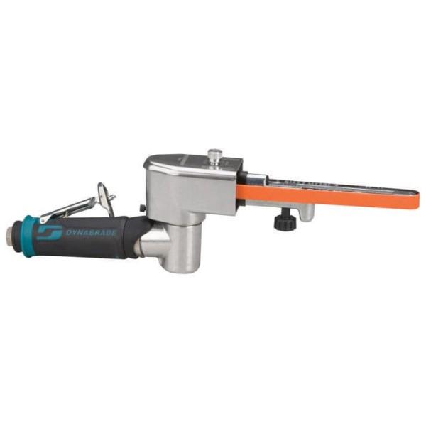 Dynafile ll Druckluft-Bandschleifer 40352 mit Kontaktarm Dynabrade Schleifbänder 457 mm und 0,4 PS