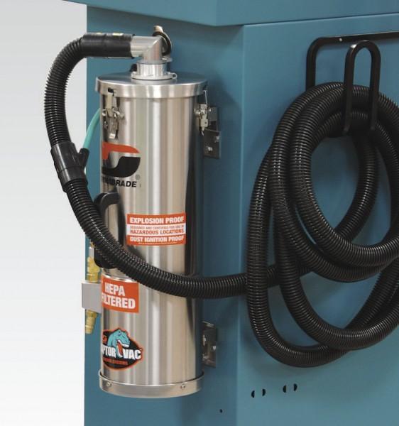 Druckluft-Industriesauger 61471 Dynabrade Sauger zur Wandmontage 6 Liter ATEX Cat 2 Zone 1 & 21