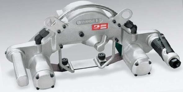 Dynabrade 14303 Druckluft Bandschleifer Dynangle II Doppelmotor 2,4 PS Schleifbänder 51 x 864 mm