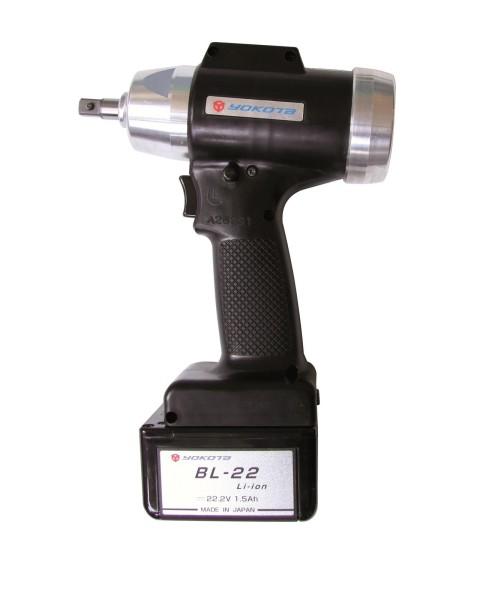 "YOKOTA YBX-800TE Akku Abschaltimpulsschrauber 3/8"" Impulsschrauber mit Abschaltung 18-35 Nm 22 Volt"