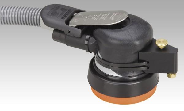 Dynabrade 57571 Druckluft Nass Exzenterschleifer 89 mm Dynorbital Supreme mit Wasserzufuhr 5 mm Hub