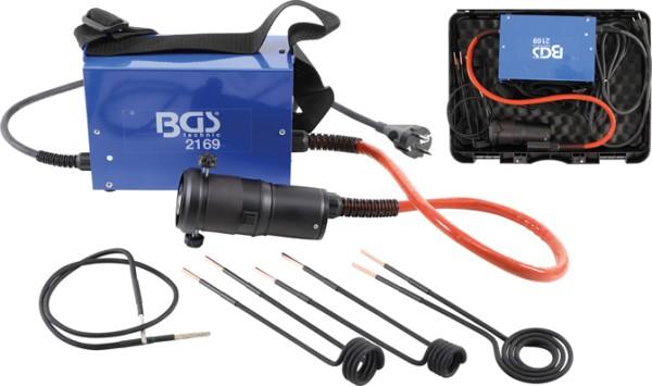 BGS 2169 Induktionsheizgerät mit Induktionsspulen 230 Volt Induktionsgerät im Set