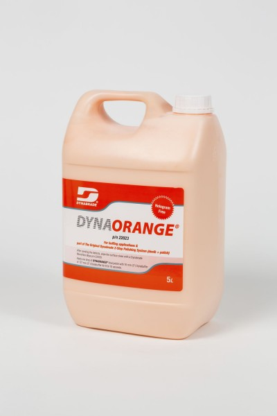 Dynaorange Politur 22023 flüssig Dynabrade Ultra-Fein-Finish Feinpolierpaste in 5 Liter Kanister