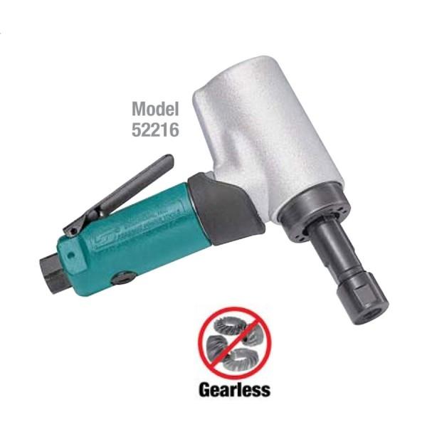 Dynabrade 52216 Druckluft Winkelstabschleifer mit Spannzange langer Schaft Stabschleifer 15000 RPM
